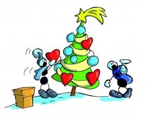 Buon Natale con le formiche di Fabio Vettori