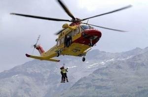 Elicottero Cnsas (Photo courtesy ecodibergamo.it)