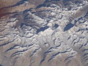 Il Saser Muztagh nella foto in cui è stato scambiato per l'Everest (Photo nasa.gov)
