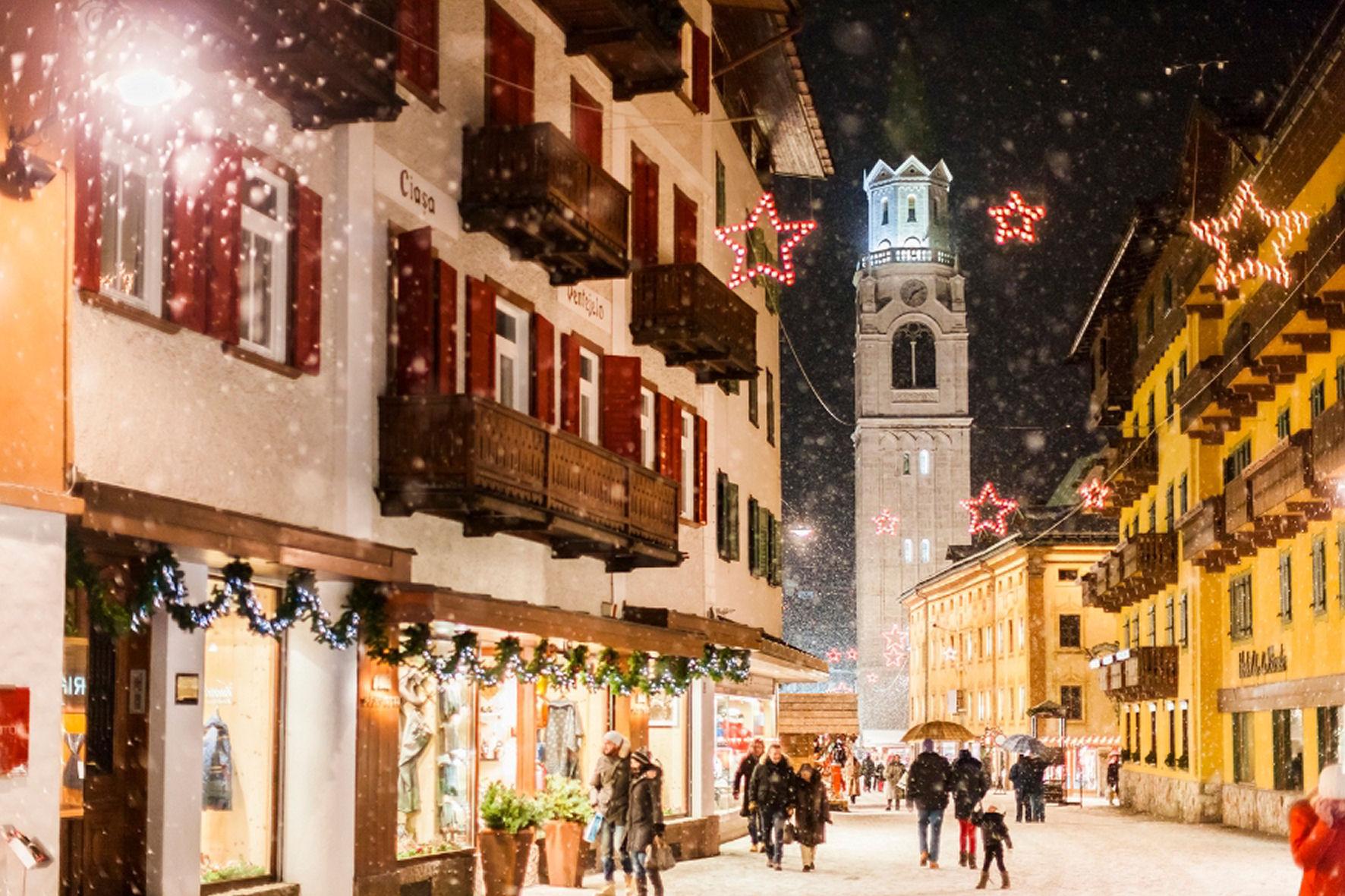 Immagini Di Natale In Montagna.Vacanze Di Natale Boom Per La Montagna Con Il Doppio Dei