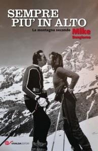 """""""Sempre piu in alto. La montagna secondo Mike Bongiorno"""" (copertina Vivalda editori)"""