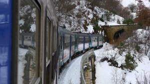 Il treno verso Pettorano (Photo S. Ardito)