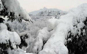 Neve e gelo a Torino (Photo courtesy tg24.sky.it)