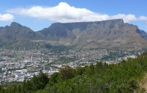 Table Mountain e Città del Capo (Photo Hilton Teper courtesy of www.livescience.com)
