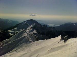 Grignetta vista dal Rifugio Brioschi