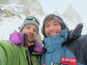 Alex Txikon e Jose Manuel Fernandez (Photo alextxikon.com)