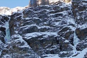 Cascate di ghiaccio in Valnontey (Photo www.valledaostamontagna.com)
