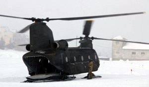 Un elicottero Boeing CH-47C (Photo courtesy of www.ladigetto.it)