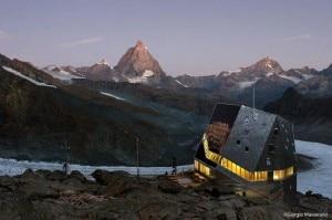 Monte Rosa Hutte (Photo Giorgio Masserano)