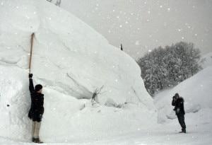 Neve ad Aomori (photo courtesy apan Meteorological Agency)