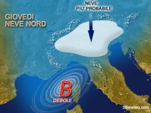 Previsioni neve (www.3bmeteo.com)
