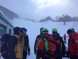 Snowboarder morto a Roccaraso (photo Cnsas Abruzzo - Ricciardulli)