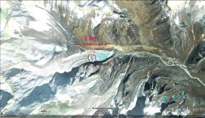 South Lonhak Glacier in ritiro (Photo courtesy glacierchange.wordpress.com)