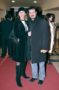 Barbara Cosentino e il marito Giampiero Ingrassia (Photo courtesy of www.corriere.it)