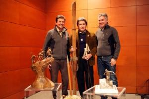 AdrianoFavre_AmedeoMaccagno_GiorgioPession - Presentazione trofeo Mezzalama (photo R. Selvatico)