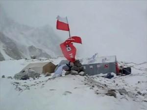 Campo base polacco al Broad Peak (Photo polskihimalaizmzimowy.pl)