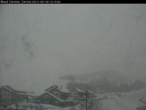 Cervinia webcam (Photo courtesy cervinia.it)