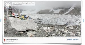 Everest a 360 gradi_Campo base su Google Street View
