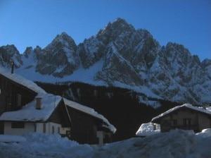 Le ricerche si stanno concentrando sul versante sappadino del Monte Siera (Photo courtesy of www.sappada.info)