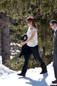 Kate sulle Alpi Svizzere (photo courtesy usmagazine.com)