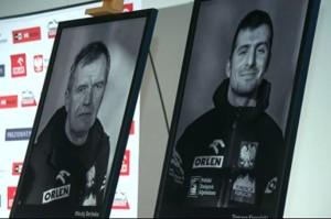 Maciej Berbeka e Tomasz Kowalski (Photo ExWeb courtesy TVN24)