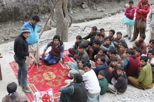 Maurizio Gallo nei villaggi del Karakorum