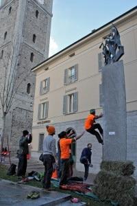 Sondrio Street Climbing (foto Luca Maspes)