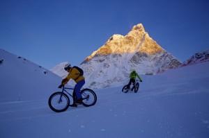 Downhill sulla neve del Cervino