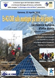 Photo of La scienza sulle montagne più alte del pianeta: a Genova serata con Gianpietro Verza