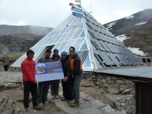 Photo of Nepal, Marco Confortola al Laboratorio Piramide