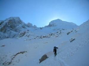 Photo of Gran Sasso, scialpinista recuperata nella Valle delle Cornacchie