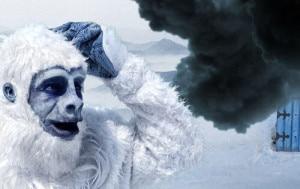 """Photo of E lo yeti sbarca sul web: si chiama Alfred K. Everest e ha avuto una """"giornata nera"""""""
