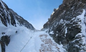 Photo of Ballinger e Baranov tentano la discesa con gli sci del Lhotse Couloir