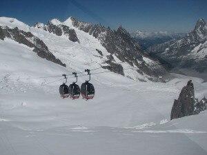 Photo of Incidente mortale sul Bianco, snowboarder precipita per 1000 metri