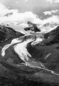 Ghiacciaio dei Forni nel 1941