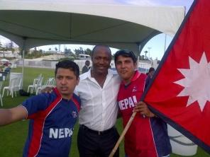 Lara-with-nepalese-cricketers.jpg