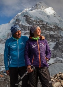 Photo of Gerlinde Kaltenbrunner e Ralf Dujmovits al McKinley per la via Cassin in stile alpino