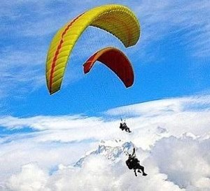 Photo of Austrian national injured in Solu paragliding accident