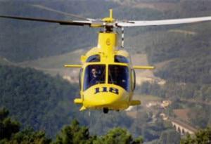 Elicottero del 118 (Photo courtesy of angelipersi.blogspot.com)