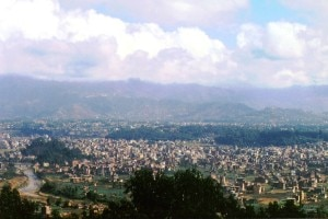 A photo of an suburb area in Kathmandu Valley. Photo: Agency