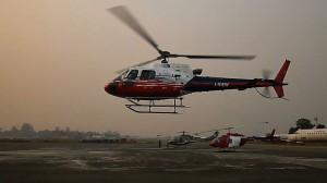 Elicottero Simone Moro in Nepal (Photo courtesy Simone Moro)