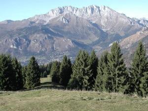 Il versante sud della Presolana (Photo courtesy of commons.wikimedia.org)
