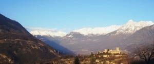 Val Camonica fotografata all'altezza di Breno (Photo Luca Giarelli courtesy of commons.wikimedia,org)