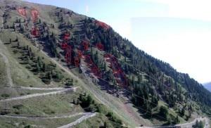 Il settore 5 dei lavori di messa in sicurezza per la statale verso Passo dello Stelvio (Photo courtesy of www.provincia.bz.it)