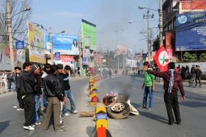 Nepal banda. Photo:ekantipur