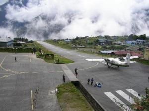Tenzing-Hillary Airport in Lukla. Photo: delaheaven.blogspot.com
