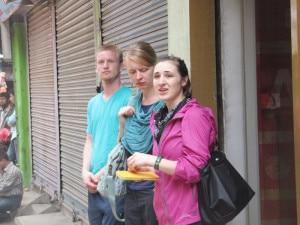 Tourists enjoying free time in Thamel, the main tourist hub in the capital Kathmandu. Photo: Nepal Mountain Focus