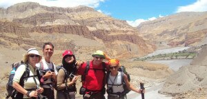 Tourist travelling in upper Mustang. Photo courtesy to www.nepalhikingteam.com
