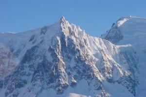 Il versante Nord dell'Aiguille du Midi (Photo courtesy of commons.wikimedia.org)