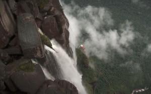 Slackline all'Angel Falls